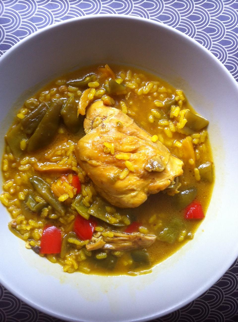Arroz Caldoso Con Setas Y Pollo arroz caldoso con pollo y verduras
